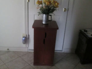 Media Storage Unit or End Table
