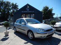 Ford Focus 1.8 ZETEC (aluminium/silver) 2004