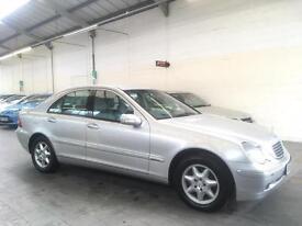 2002 Mercedes-Benz C Class 2.1 C220 CDI Elegance 4dr