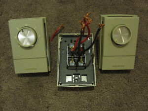 Baseboard Electric Heat Thermostats Set Of 3