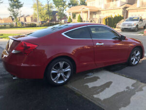 2011 HONDA ACCORD COUPE EX-L NAVI V6 LOW KMS!