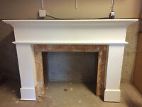 White mantel for sale