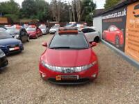 HONDA CIVIC 2.2 i-CTDI ES 5dr Red Manual Diesel, 2007
