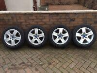 "Genuine Audi 16"" alloys"