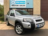 2005 (55) LAND ROVER FREELANDER 2.0TD4 HSE AUTO, HEATED LEATHER, PARKING SENSORS
