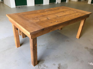 !!!NEW!!! Rustic Farmhouse Table