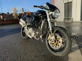 Ducati Monster S4-R - Lots of carbon fibre parts fitted - Sheffield 01142525454