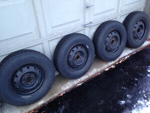 13' rims with winter tires