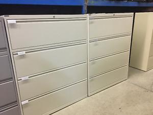 Mobilier de bureau usagé , classeur , filière 2-3-4-5 tiroirs ..