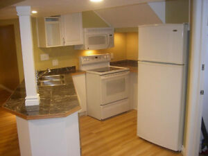 Hillsdale - Large well Lit self contained basement suite