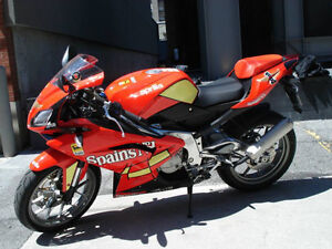 Rare RS 125 Spain No.1  Street legal race bike