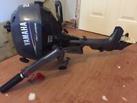 Yamaha 2.5 Hp 4 stroke outboard forsale new phone no