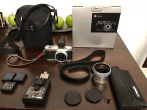 Leica X20 plus EVF, other accessories