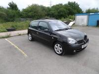 """2003 RENAULT CLIO DYNAMIQUE BILLABONG 16V """"CAT C"""" REAPAIRED TO HIGH STANDARD"""