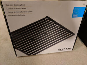 Brand New Broil King Cast Iron Grids - 2 Pieces