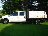 1999 Ford F-350 crew cab with dump and v10 Other