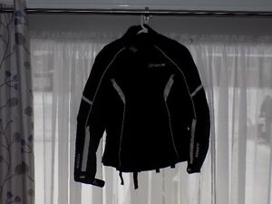Black Onix Motorcycle Jacket
