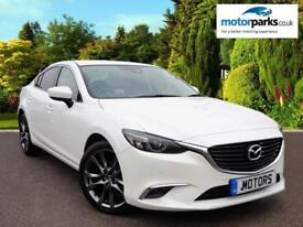 2017 Mazda 6 2.2d Sport Nav Auto 4dr Automatic Diesel Saloon