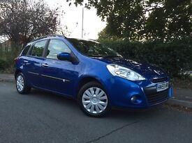 2009 (59) Renault Clio 1.5 DCi Sport Tourer Expression, Full service history, £30 per year road tax!
