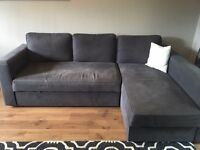 IKEA sofa bed with mattress and storage £100