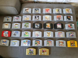 N64 with 35 games