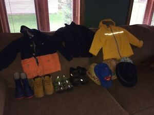 Toddler boy's outerwear