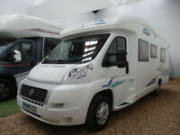 CHAUSSON ALEGRO 96 / 2 SINGLE BEDS / END WASHROOM / LOW PROFILE / 3 BERTH