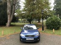 2004/54 Audi A3 2.0 TDI Sport 3 Door Hatchback Blue