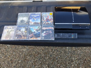 Sony Playstation 3 Console and Games