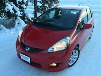 2009 Honda Fit Sport 5 Speed Fun! Fuel Miser, Low KMs