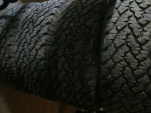 LT 265/70R17 10 PLY GENERAL GRABBER AT 2 $179.00 EACH LIKE NEW