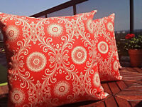 LARGE OUTDOOR / INDOOR CUSHION -BRAND NEW CUSTOM-MADE
