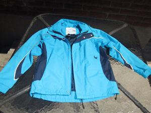 manteau court imperméable