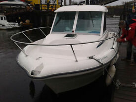 jeanneau 635 merryfisher boat very low hours under 400