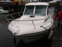 jeanneau 635 merryfisher boat very low hours under 400