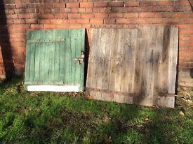 Pair of Old Stable doors