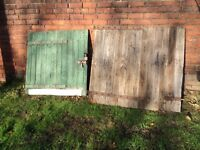Pair of Old Stable doors