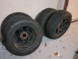 """Winter Tires  17"""" - Used"""