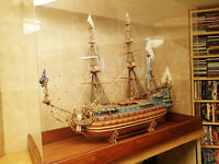 LARGE SAILING SHIP MODEL. ABSOLUTELY GORGEOUS GIFT.