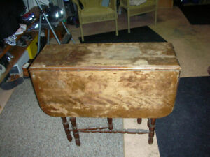 Antique folding Gable Table