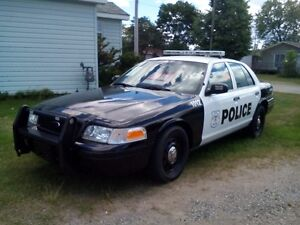 2007 Ford Crown Victoria police package Sedan