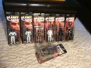 """Planet of the Apes"" action figures (2000-2001) - RARE / NEW"