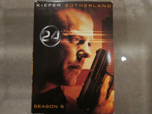 24 the TV Series Seasons 5 DVD Set