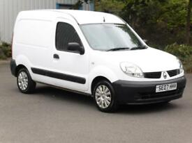 Renault Kangoo 1.5dCi, Panel Van, White, 2007, Long Mot, 3 Months Warranty