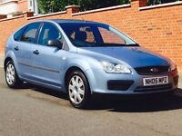 FORD FOCUS 1.6 LX AUTO 2005 58k LOW MILEAGE FSH CAMBELT CHANGED MOT 3 MONTHS WARRANTY LOVELY CAR
