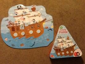 Shaped pirate puzzle.
