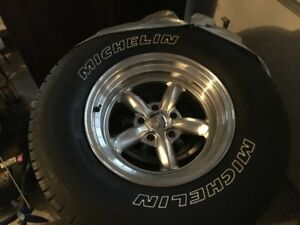 Ford Ranger tires and chrome rims