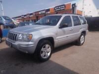 2004 Jeep Grand Cherokee 2.7 CRD Limited 4x4 5dr