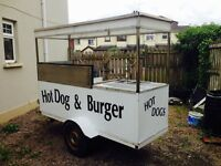 ( Bargain need gone) Burger and hotdog trailer for sale (catering trailer)