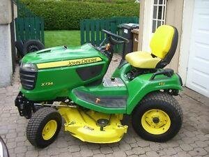 Tracteur, tondeuse JOHN DEERE  X734